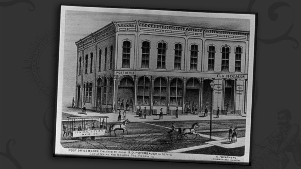Post Office 1872 - Daisy