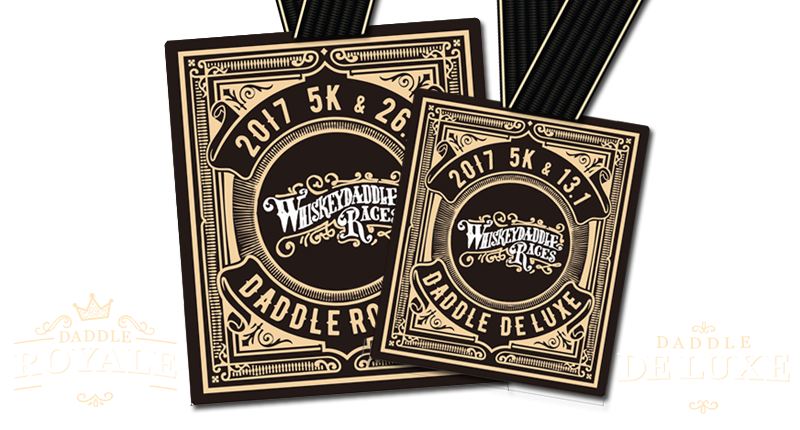 Daddle Royale and Daddle De Luxe Medals